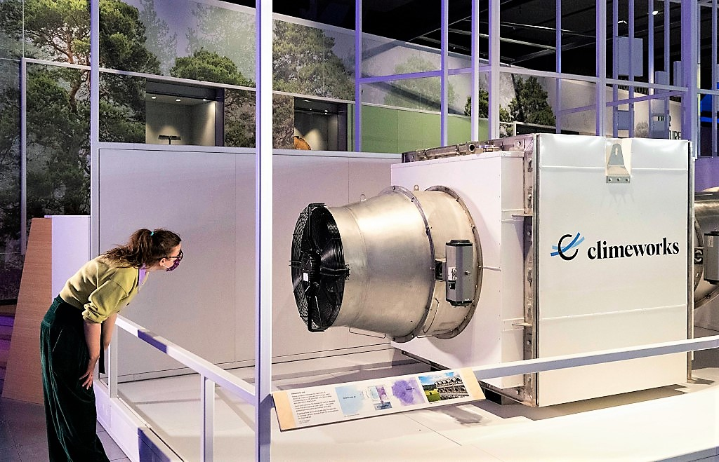 Climeworks' Direct Air Capture machine, © Science Museum Group (1)