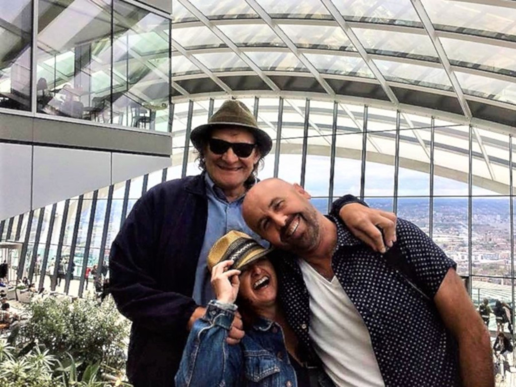 George with Boon and their great friend Greg at the Sky Garden.