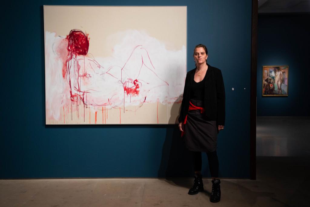 Tracey Emin at the Royal Academy of Arts Photo: © David Parry/ Royal Academy of Arts