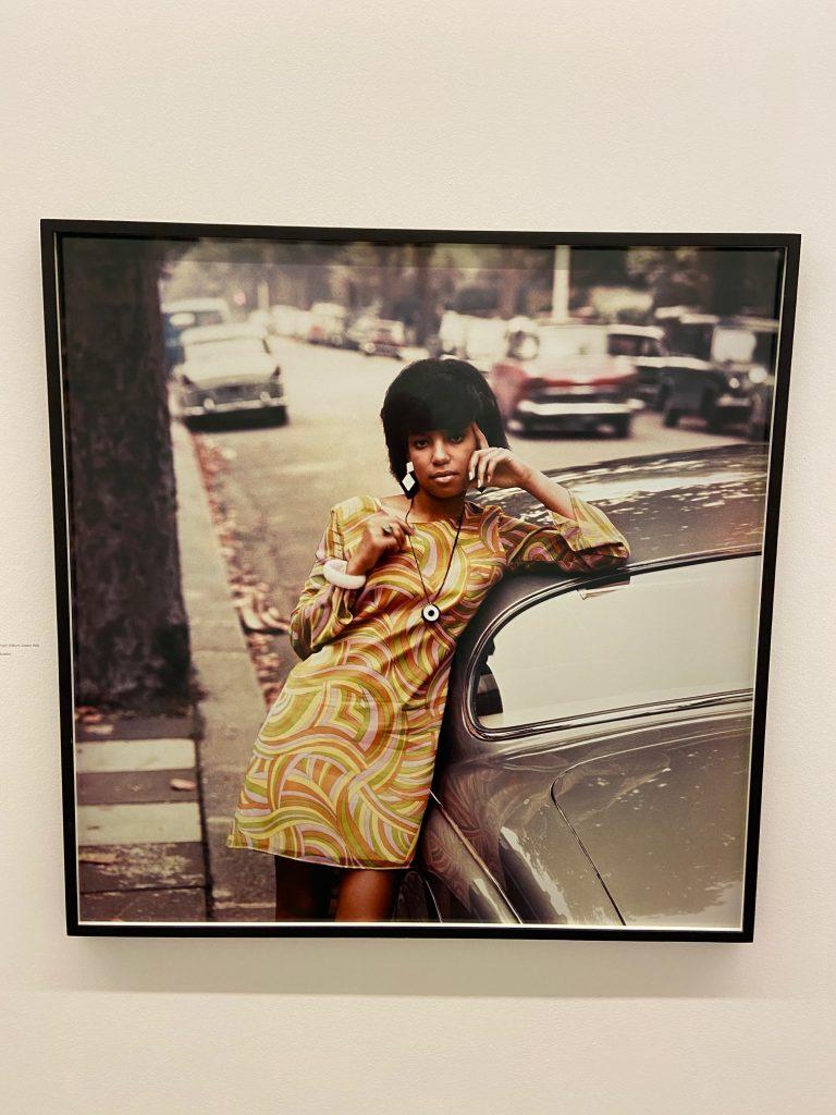 Erlin Ibreck, Drum cover girl, Kilburn, London, 1966