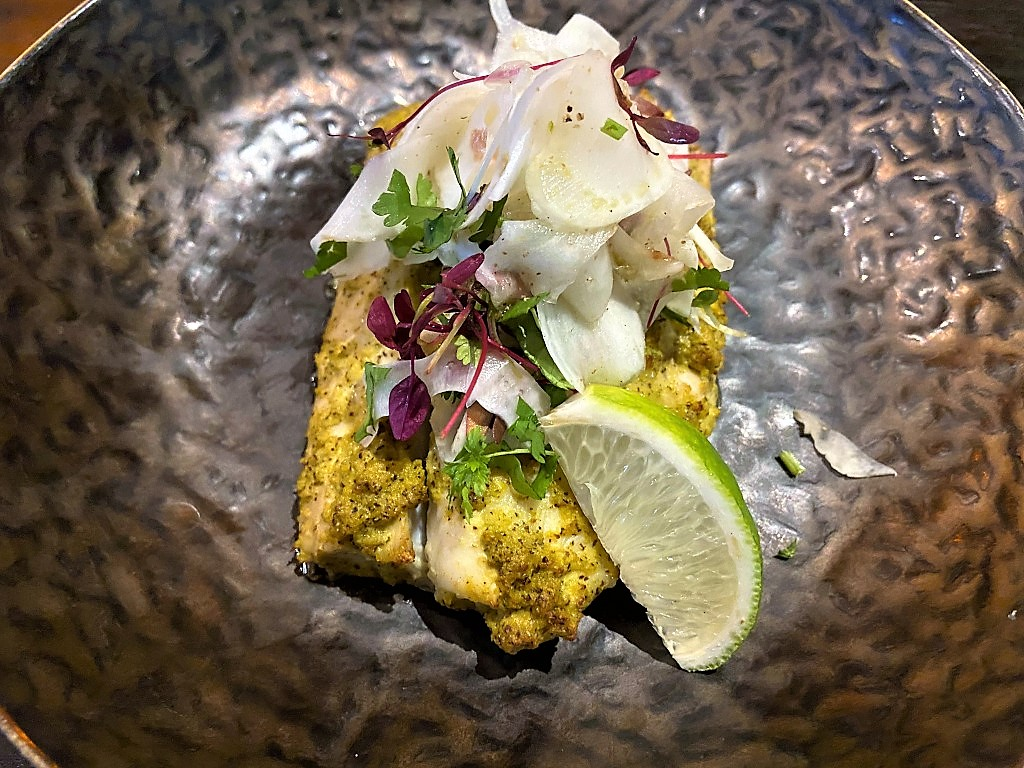 Steamed nariel fish - the stand-out dish