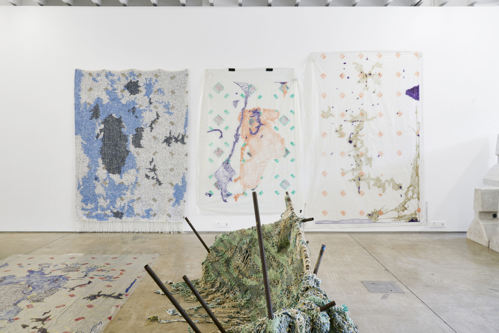 Igshaan Adams Studio at the A4 Arts Foundation in Cape Town, 2020. Courtesy of A4 Arts Foundation.(2)