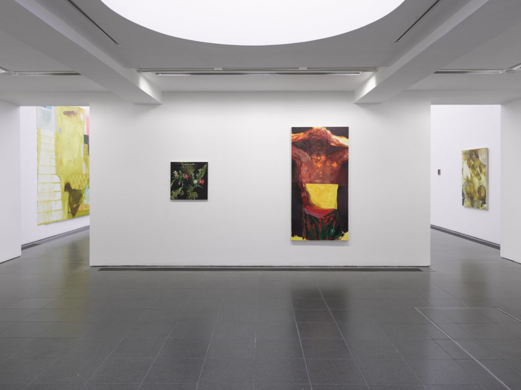 Jennifer Packer installation images caption Jennifer Packer The Eye Is Not Satisfied With Seeing (Installation view, 5 December 2020 – 14 March 2021, Serpentine Galleries) Photo George Darrell