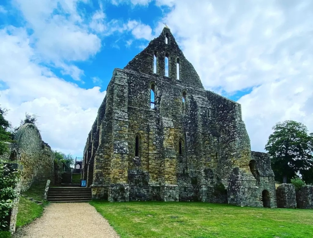 Battle Abbey was built where the battle was fought in 1066 1066 Country Day Trip