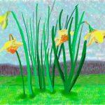 """David Hockney """"No. 118"""", 16th March 2020 iPad painting © David Hockney"""