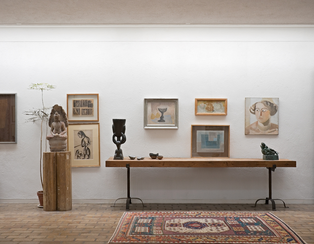 The concept of Kettle's Yard is to present artwork in a domestic setting.