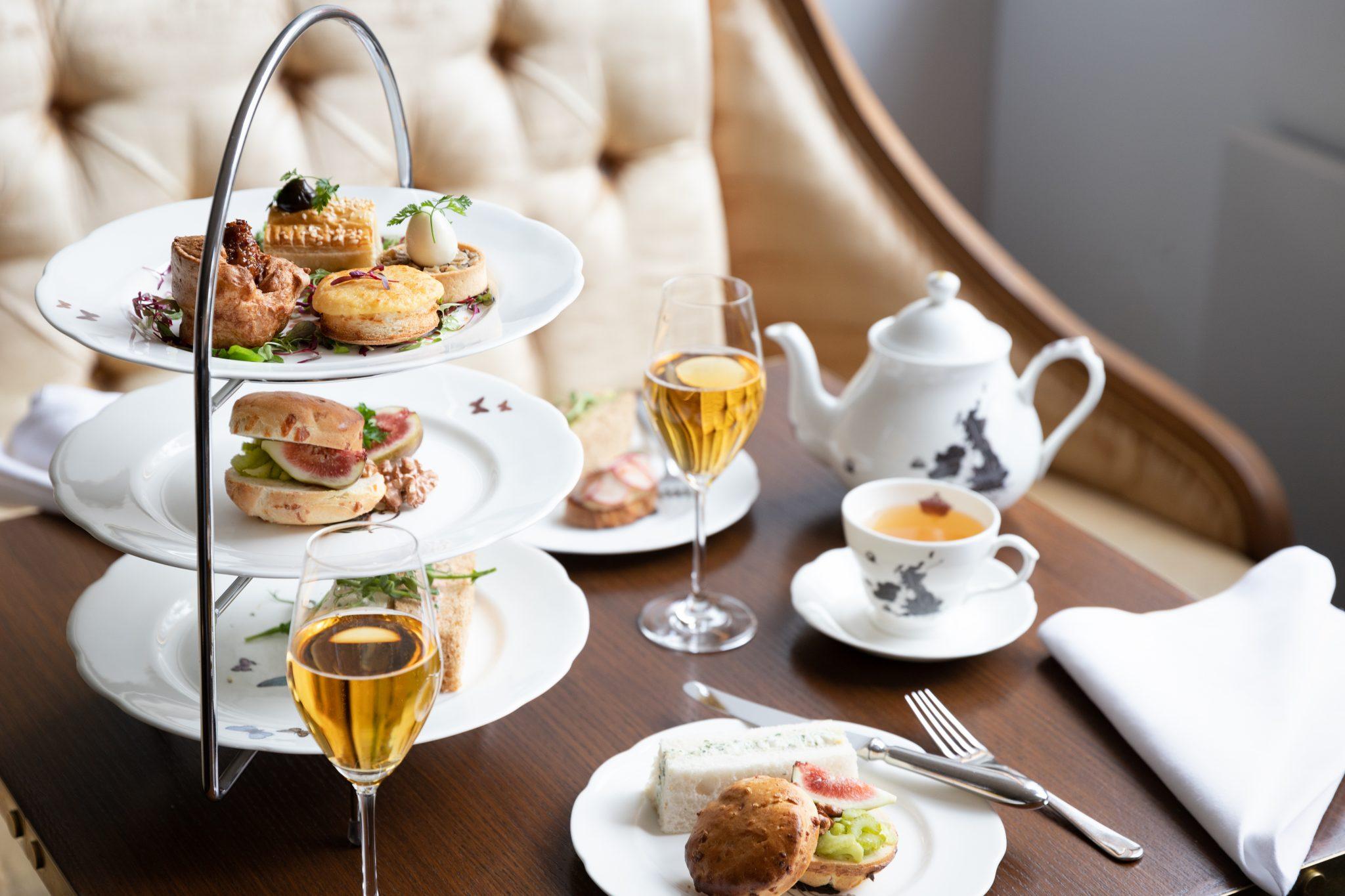 Athenaeum Hotel afternon tea