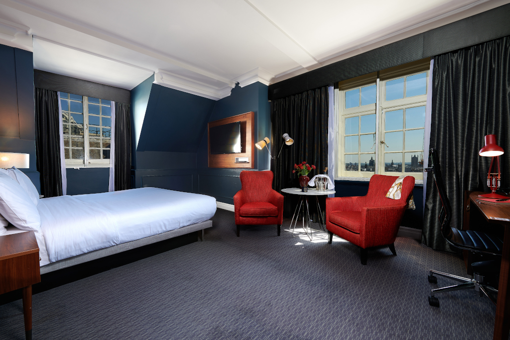 Contemporary yet elegant rooms at The Dilly