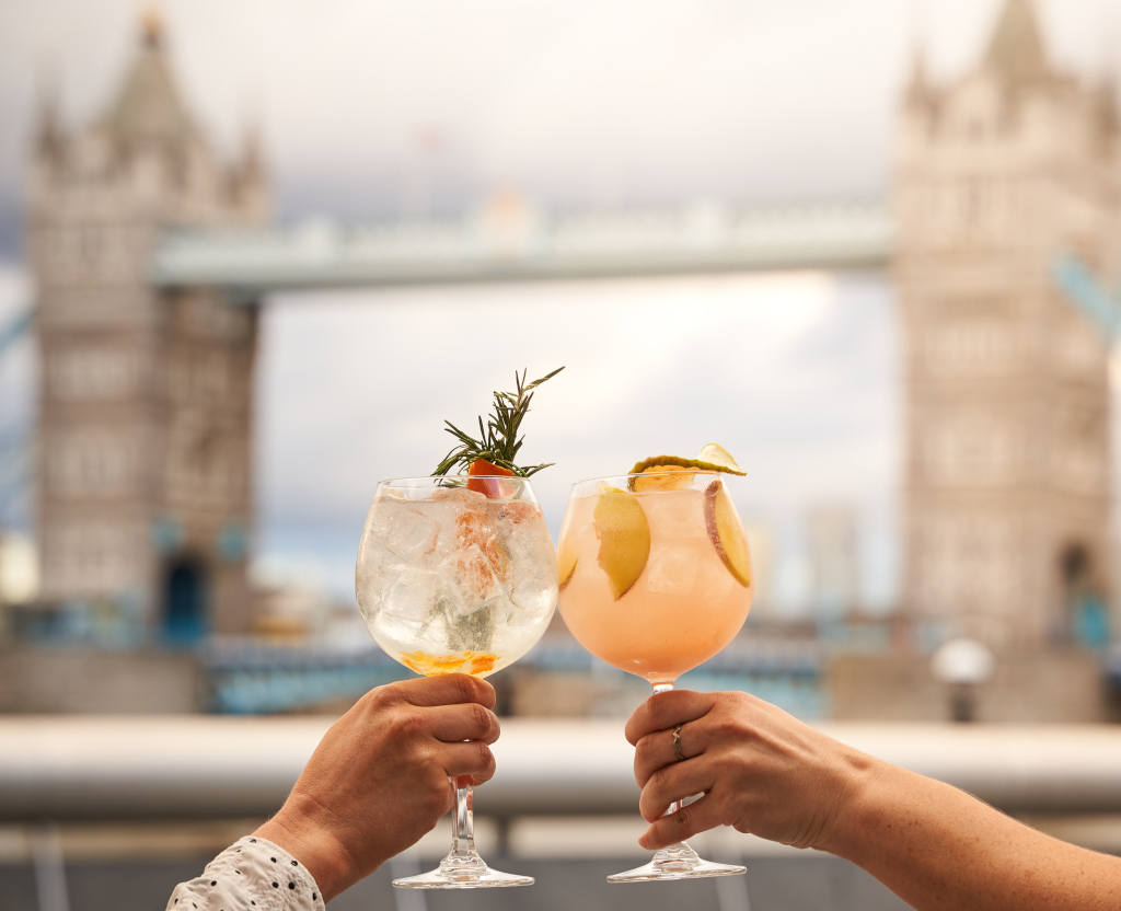 Cocktails at Tavolino Bar & Kitchen Tower Bridge