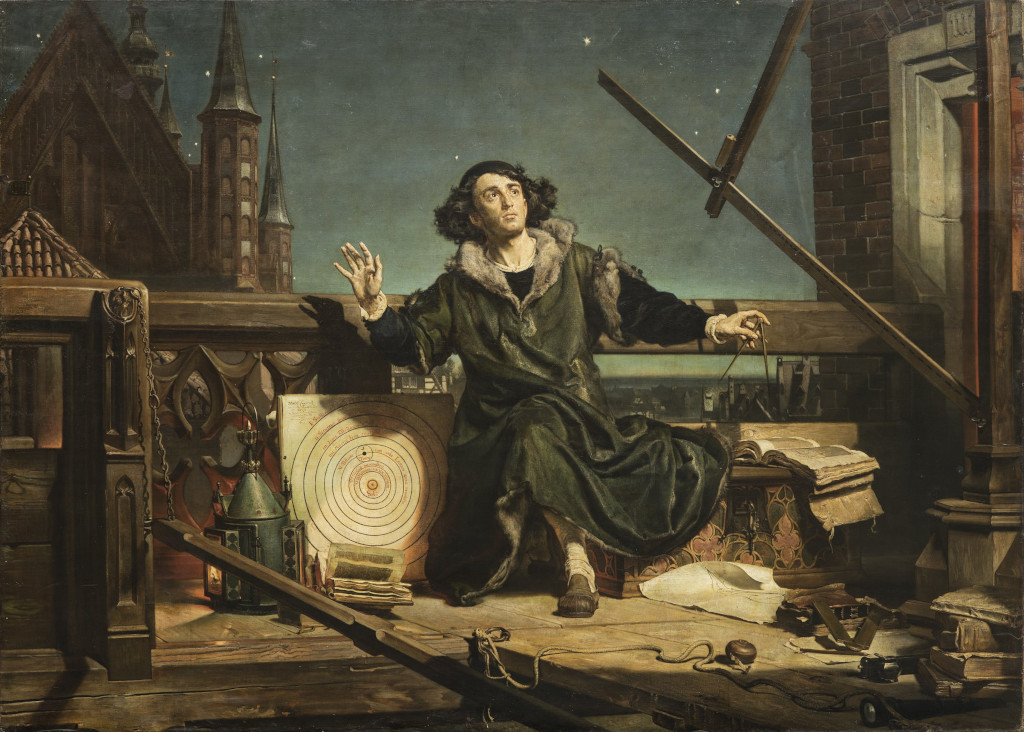 The Astronomer Copernicus. Conversations with God Jan Matejko 1873 The Jagiellonian University Museum, Kraków