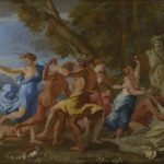 A Bacchanalian Revel before a Term Nicolas Poussin 1632-3 The National Gallery London