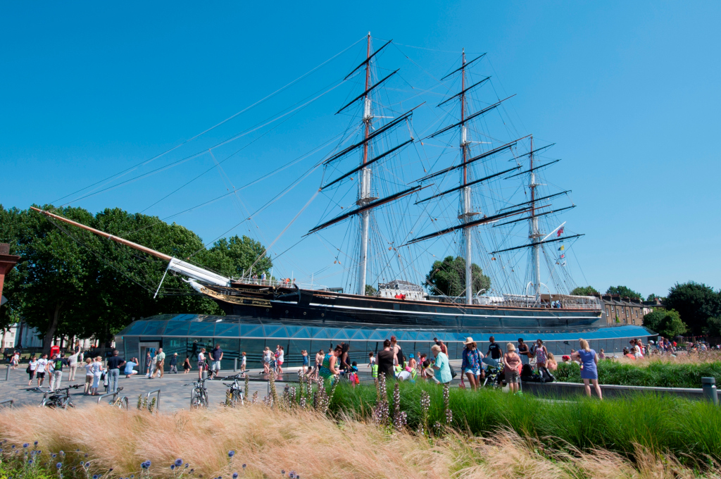 Cutty Sark © National Maritime Museum London, photo provided by Visit Greenwich