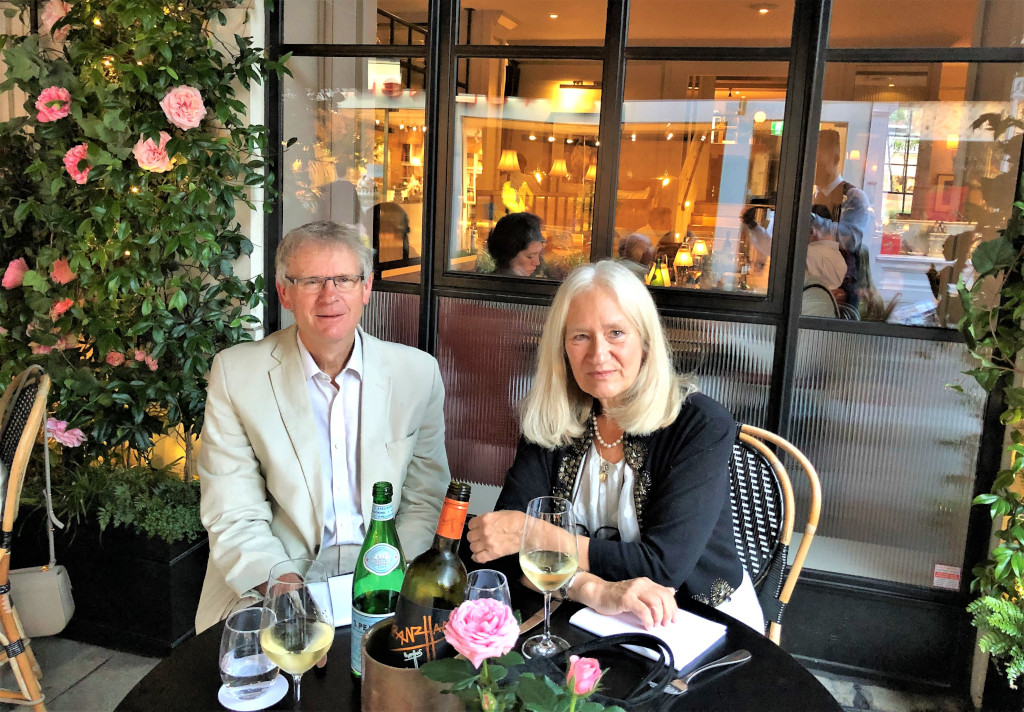 Dining at 108 Brasserie