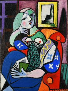 Woman with a Book, 1932