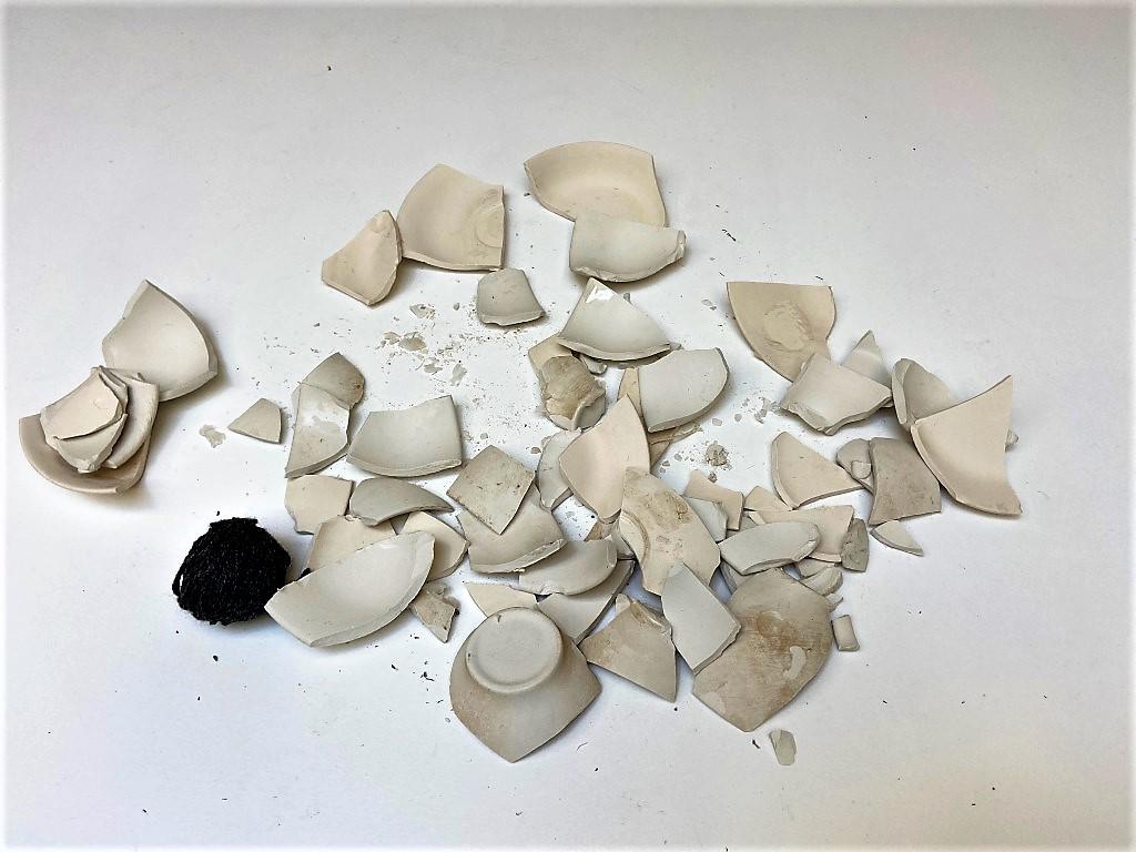 Yoko Ono's exhibition Mend Piece for London
