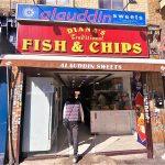 No Diana, nor fish and chips but great samosas